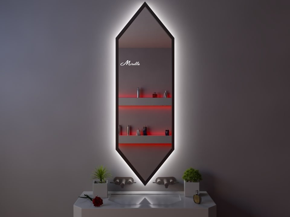 Эксклюзивное зеркало с подсветкой Karat Extra