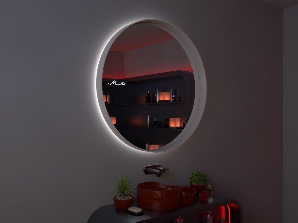Зеркало с подсветкой в раме Oasis Extra