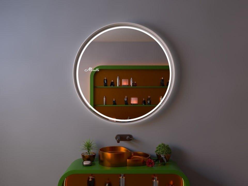 Зеркало с подсветкой в раме Oasis Plus