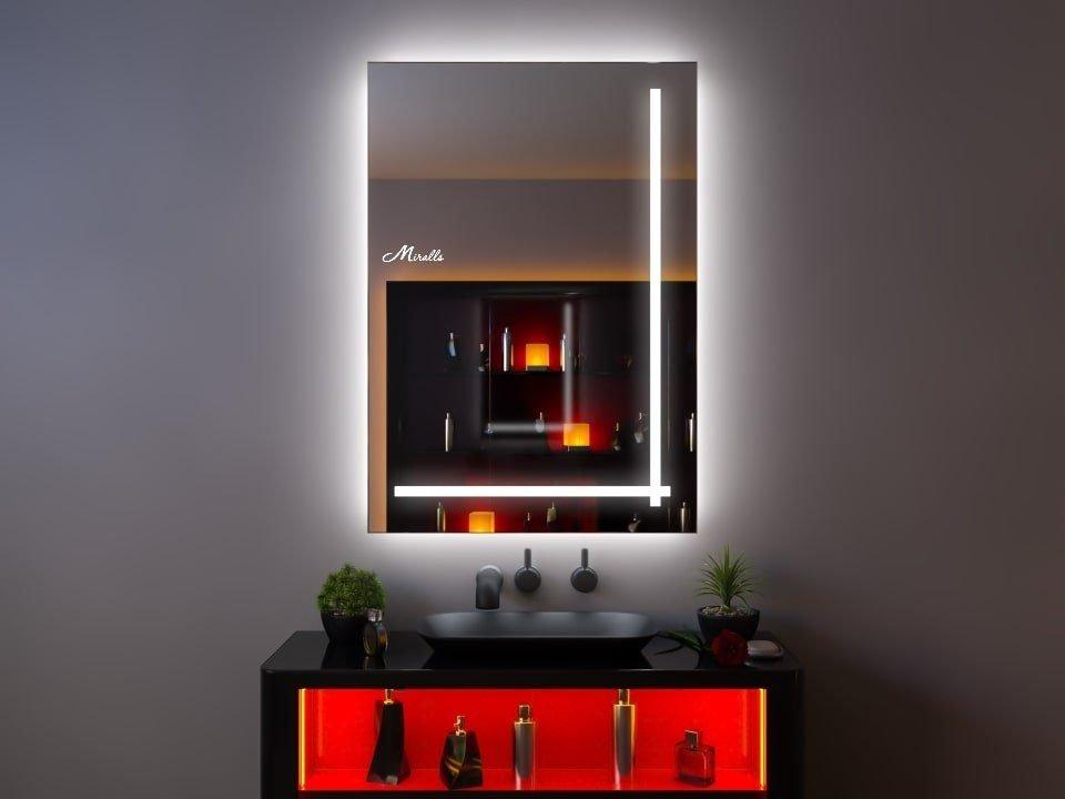 Зеркало с интерьерной подсветкой Cross