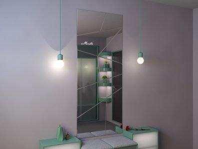 Зеркальное панно Picasso