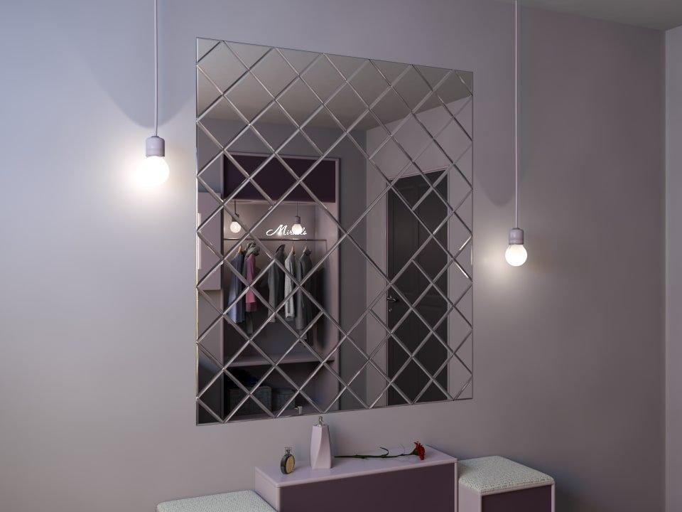 Зеркальное панно Urban