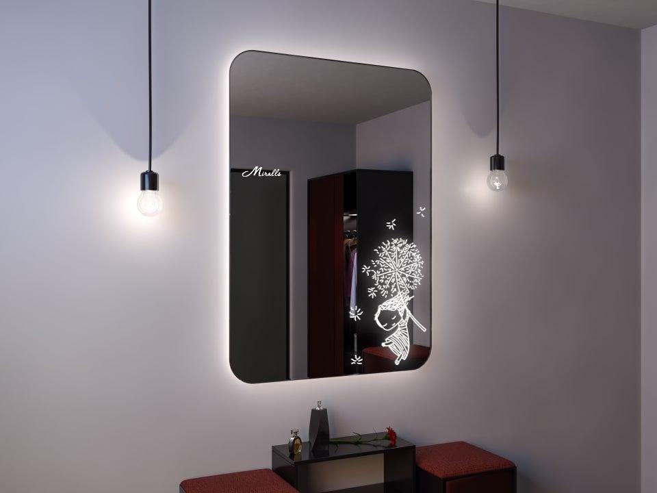Зеркало с подсветкой Eva