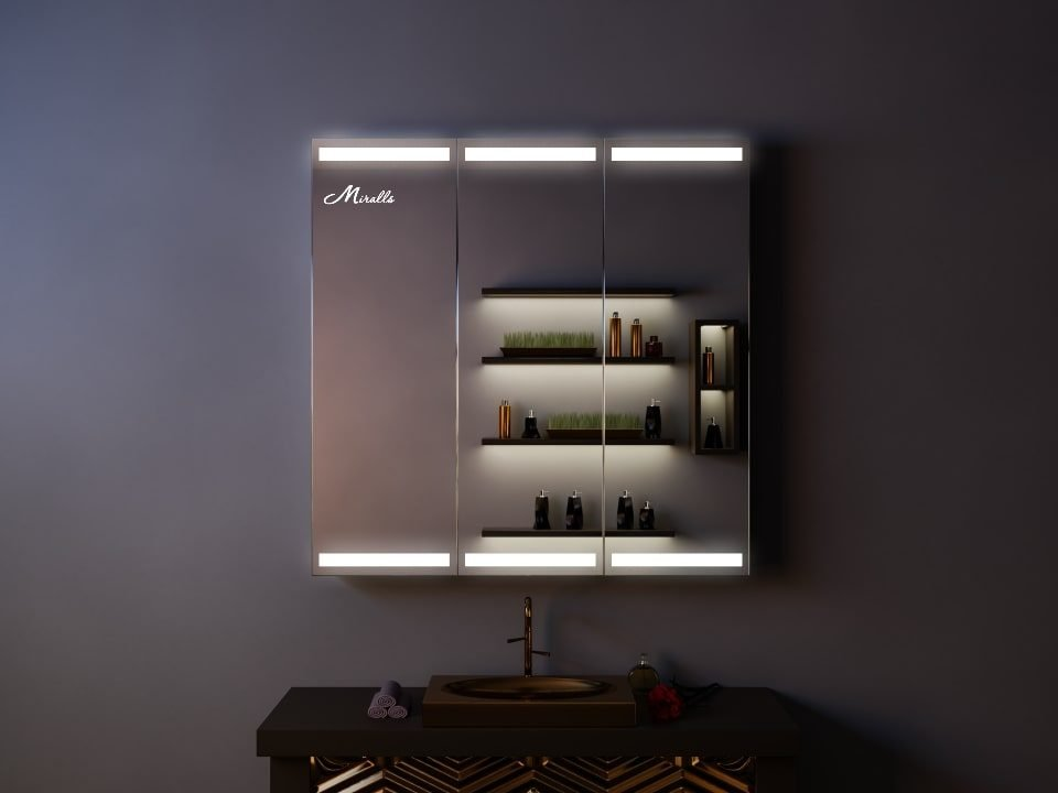 Зеркальный шкаф Amador