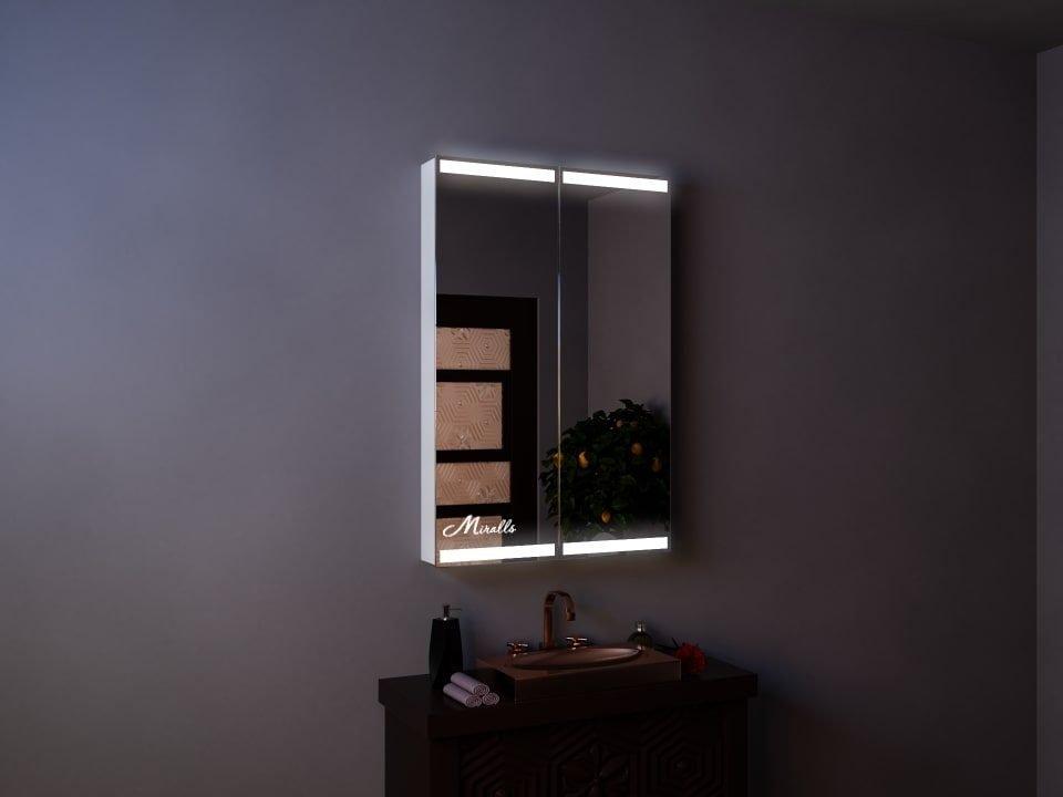 Зеркальный шкаф Fillini
