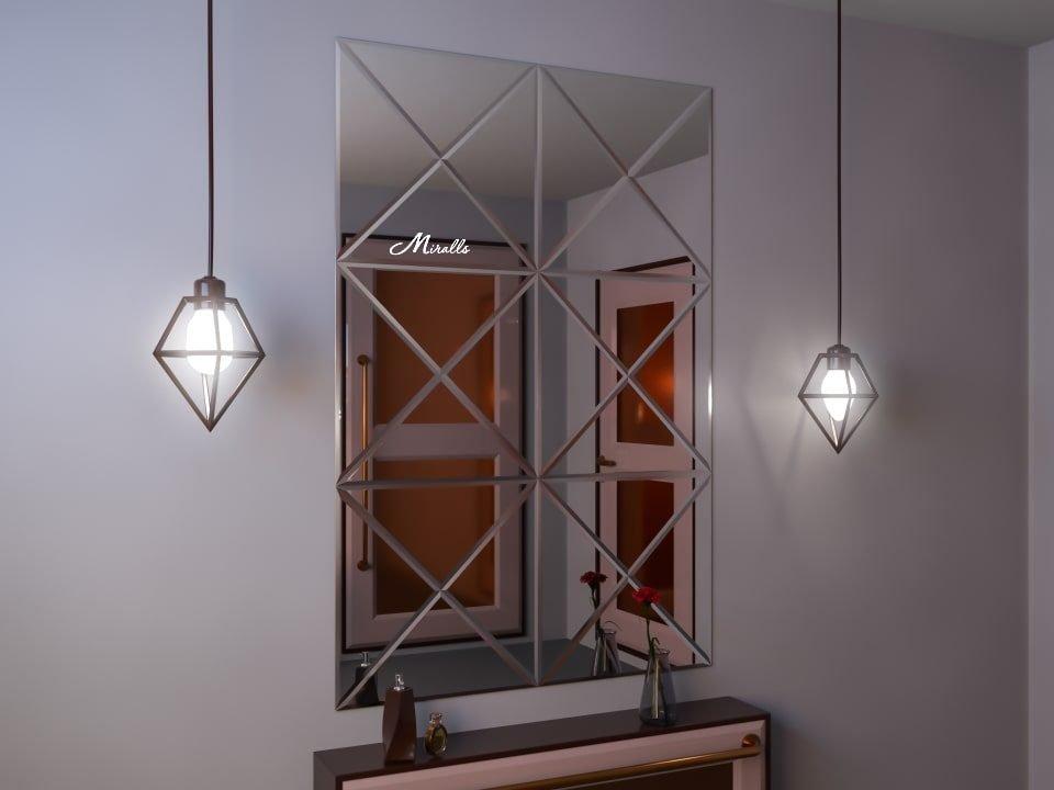 Зеркальное панно Amato