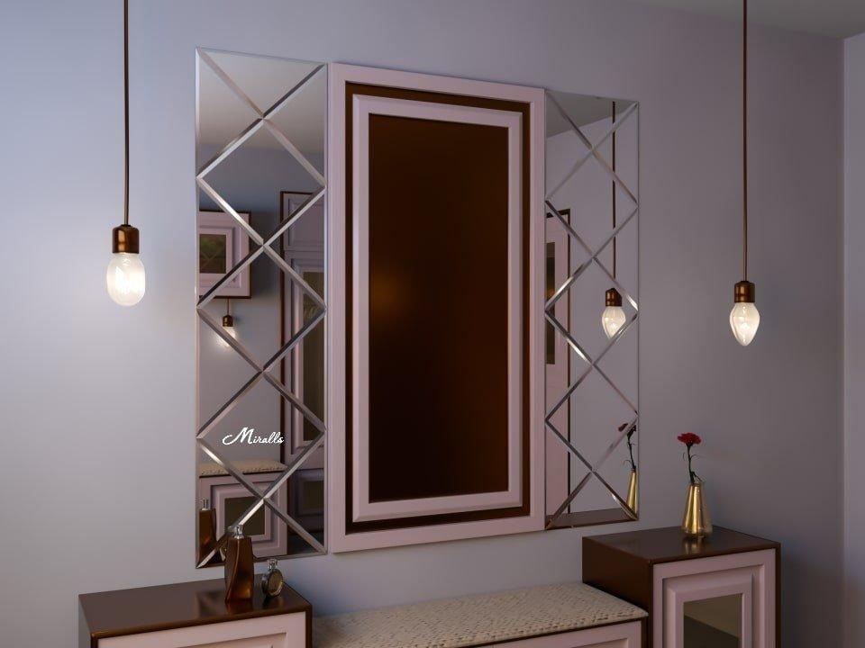 Зеркальное панно Franchesco
