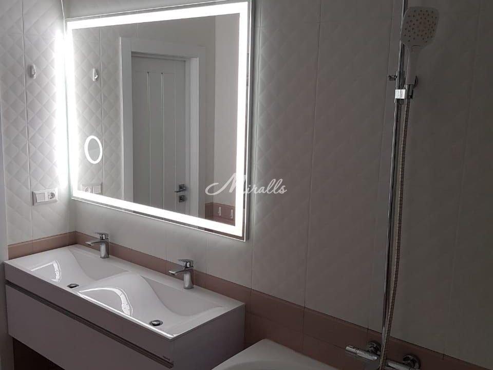 Зеркало Murano Extra с увеличительным зеркалом (холодный свет)