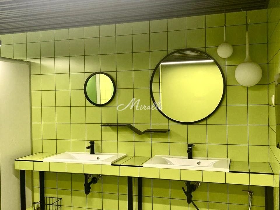 Зеркала Orion на заводе Faberlic