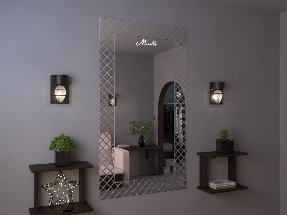 Зеркальное панно Lira