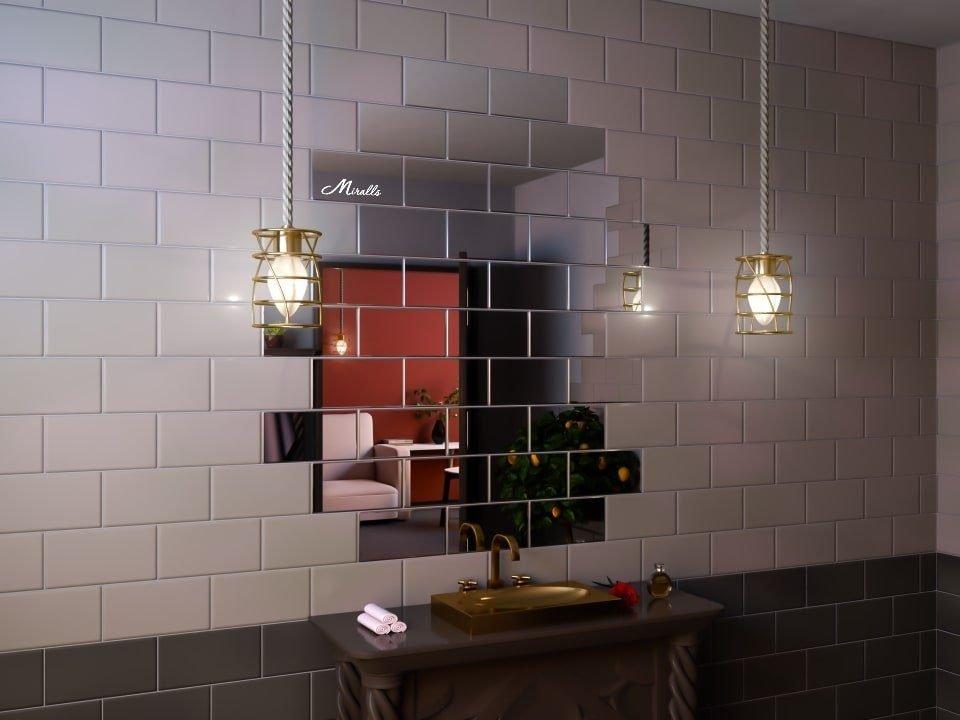 Зеркальная плитка Plato