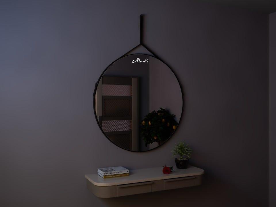Зеркало на ременном подвесе Tile