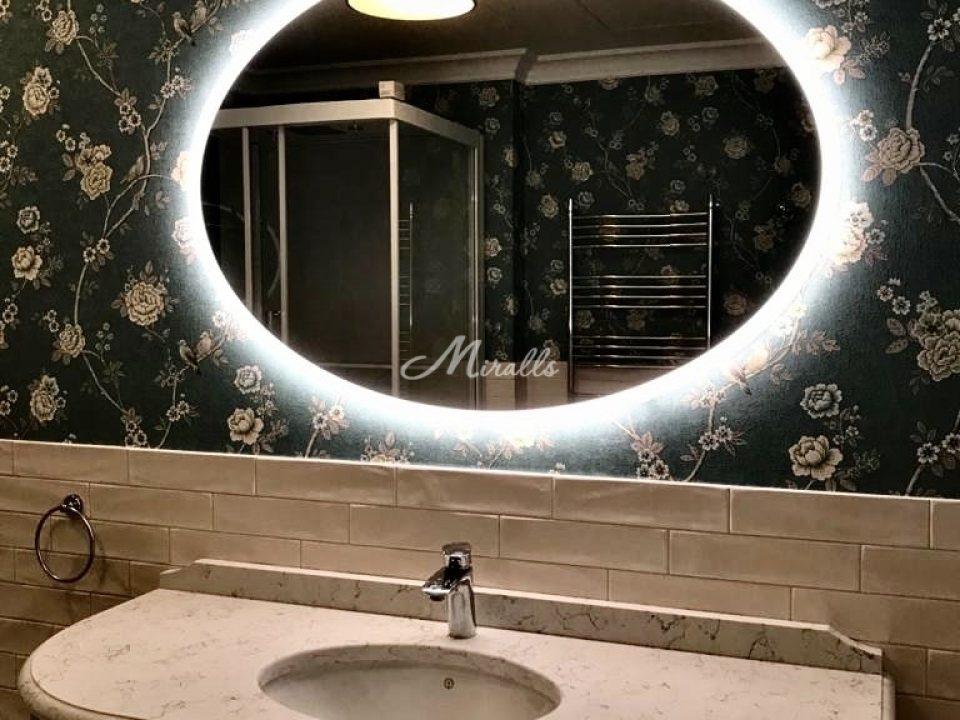 Зеркало Oko с холодной подсветкой