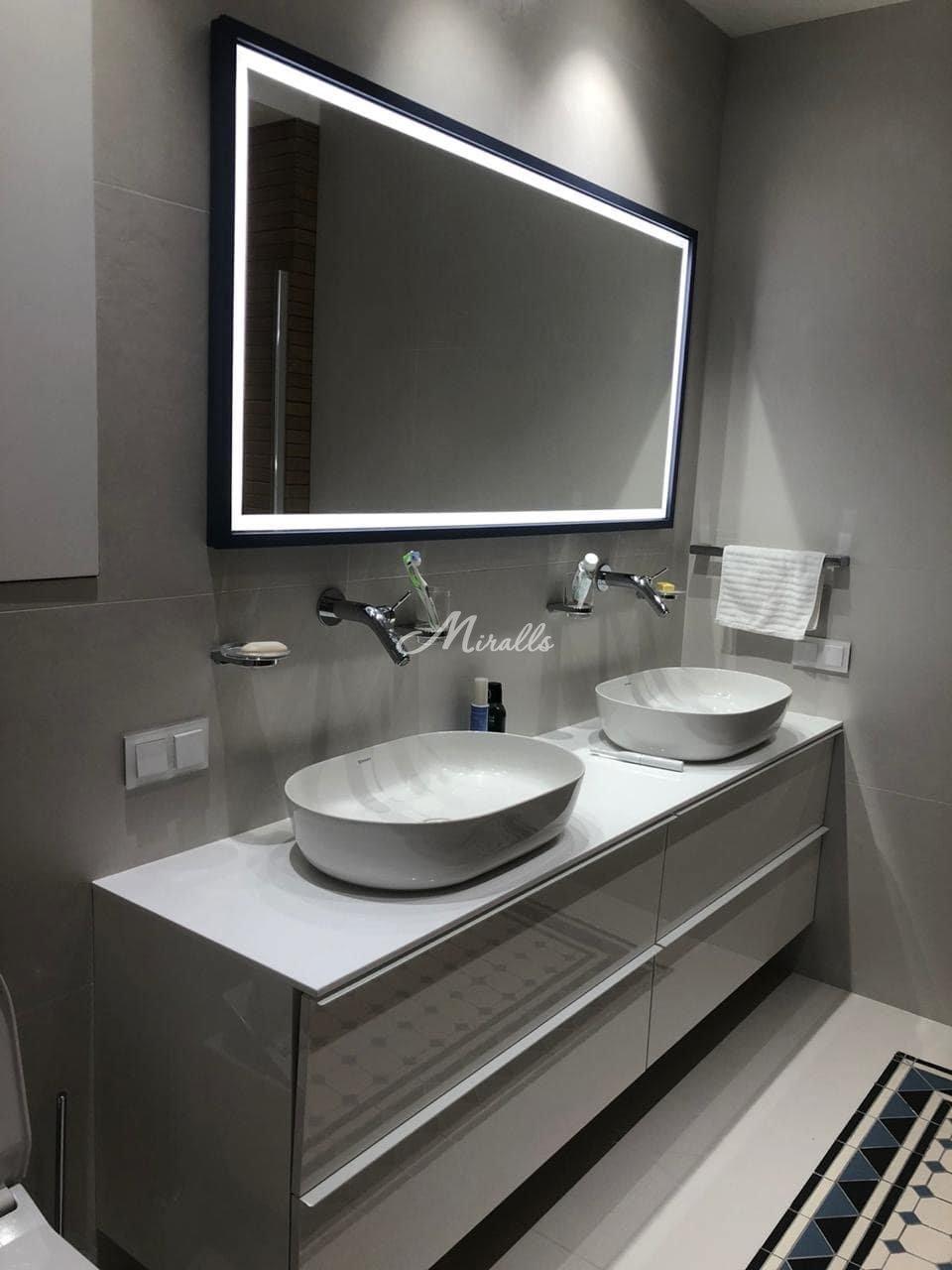 Зеркало Bruno Plus в ЖК Silver