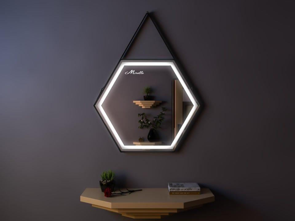 Зеркало с подсветкой на ремне Telma