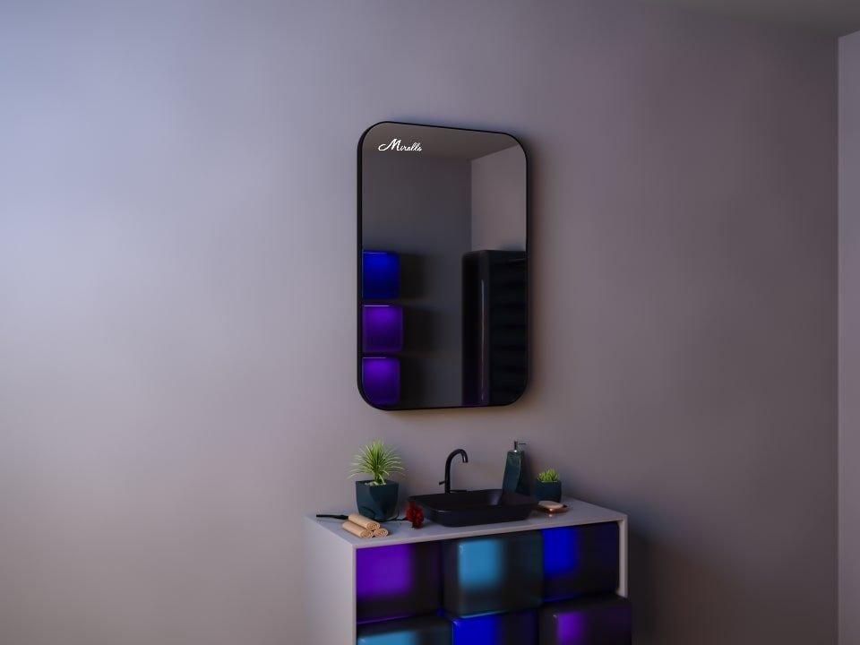 Зеркало в тонкой раме Maison