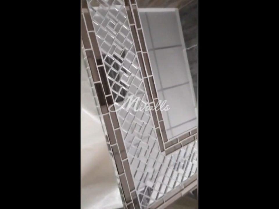 Зеркало в мозаичной раме Antique