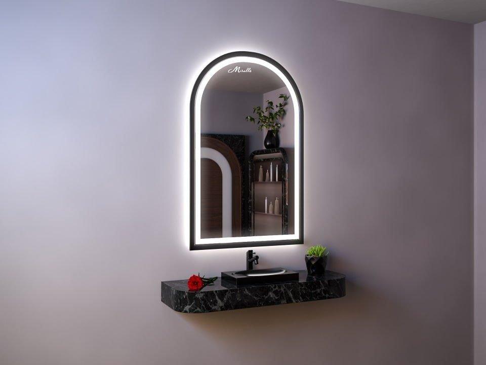 Арочное зеркало с подсветкой Dorian Plus