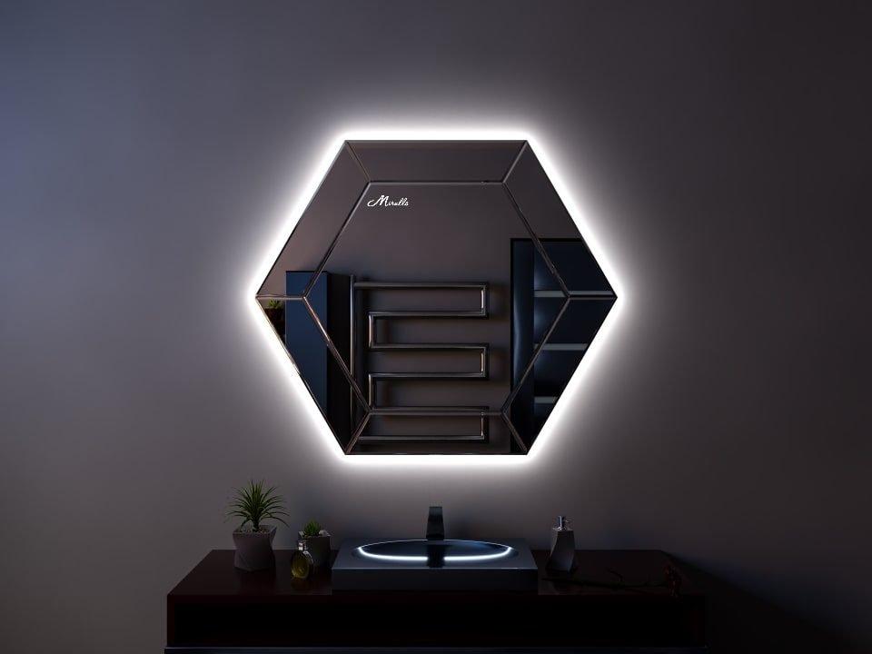 Эксклюзивное зеркало с подсветкой Jaklin Extra