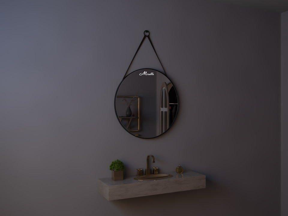 Зеркало на ременном подвесе Medalion