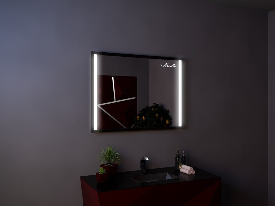 Зеркало с подсветкой в раме Rossini