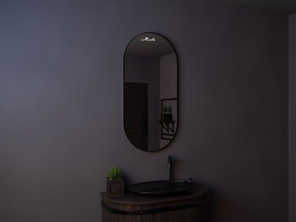 Зеркало в тонкой раме Ameli