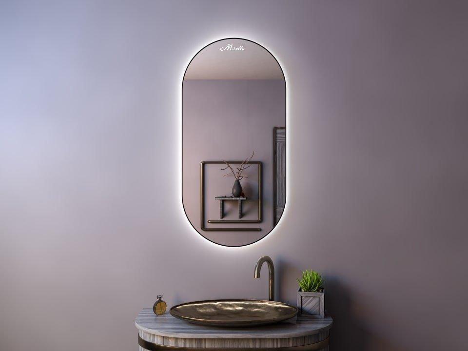 Зеркало в тонкой раме Ameli Extra