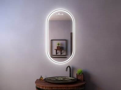 Зеркало в тонкой раме Ameli Plus
