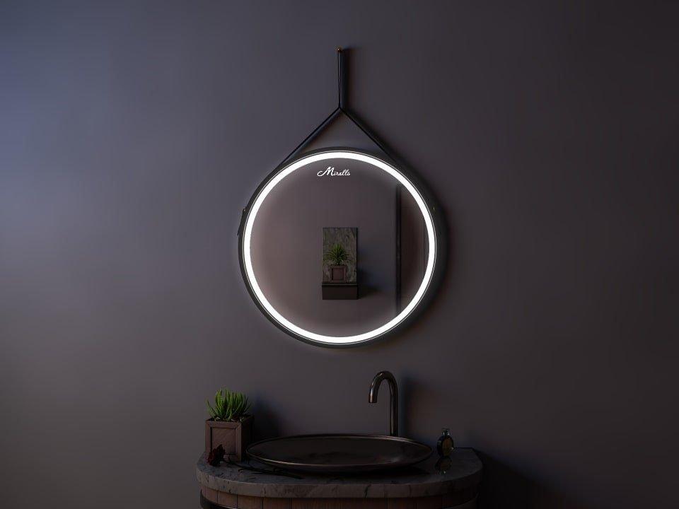 Зеркало с подсветкой на ремне Feona Plus