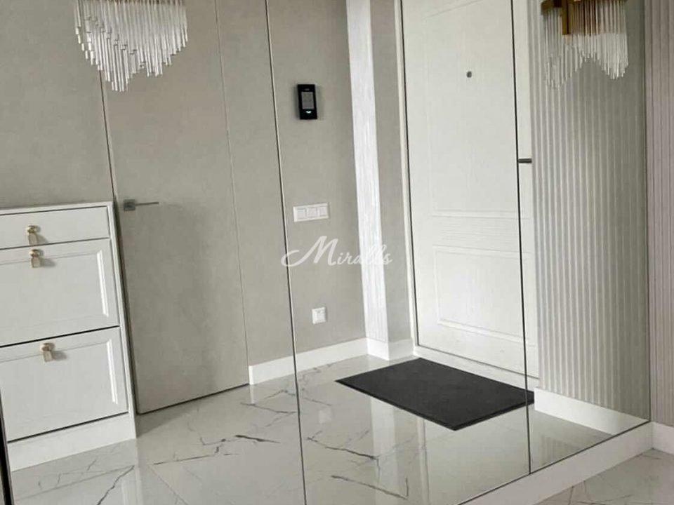 Зеркальное полотно под вклейку в ЖК Silver