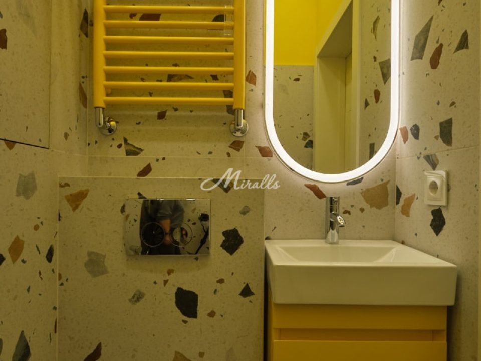 Зеркало Aura в ЖК Barrin House