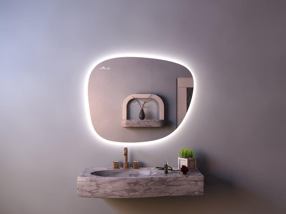 Эксклюзивное зеркало с подсветкой Heda Extra