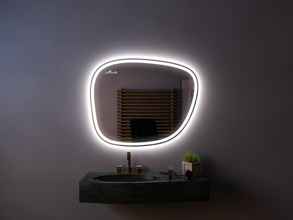 Эксклюзивное зеркало с подсветкой Heda Plus