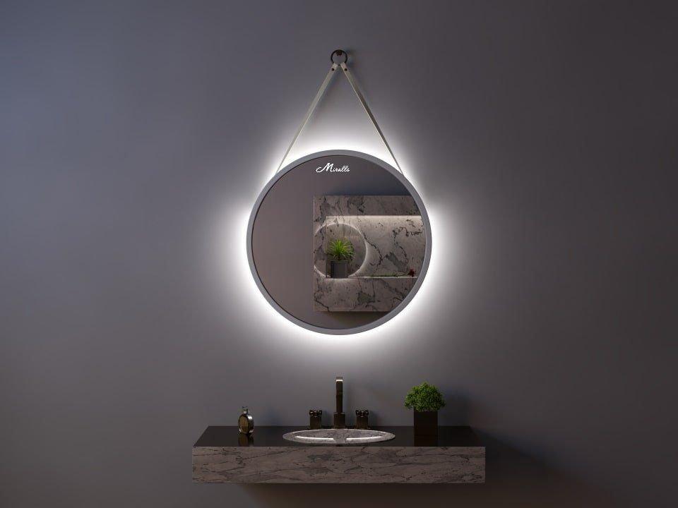 Зеркало с подсветкой на ремне Estetica Extra