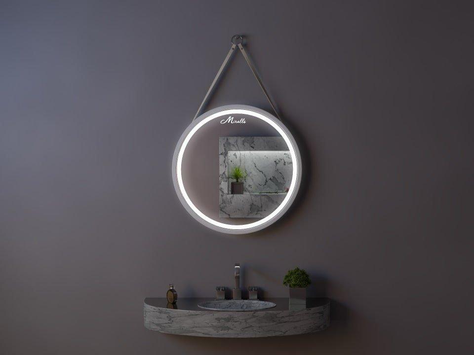 Зеркало с подсветкой на ремне Estetica Plus