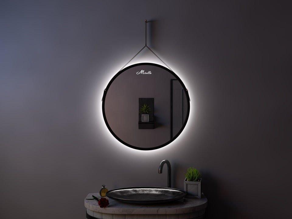 Зеркало с подсветкой на ремне Feona Extra