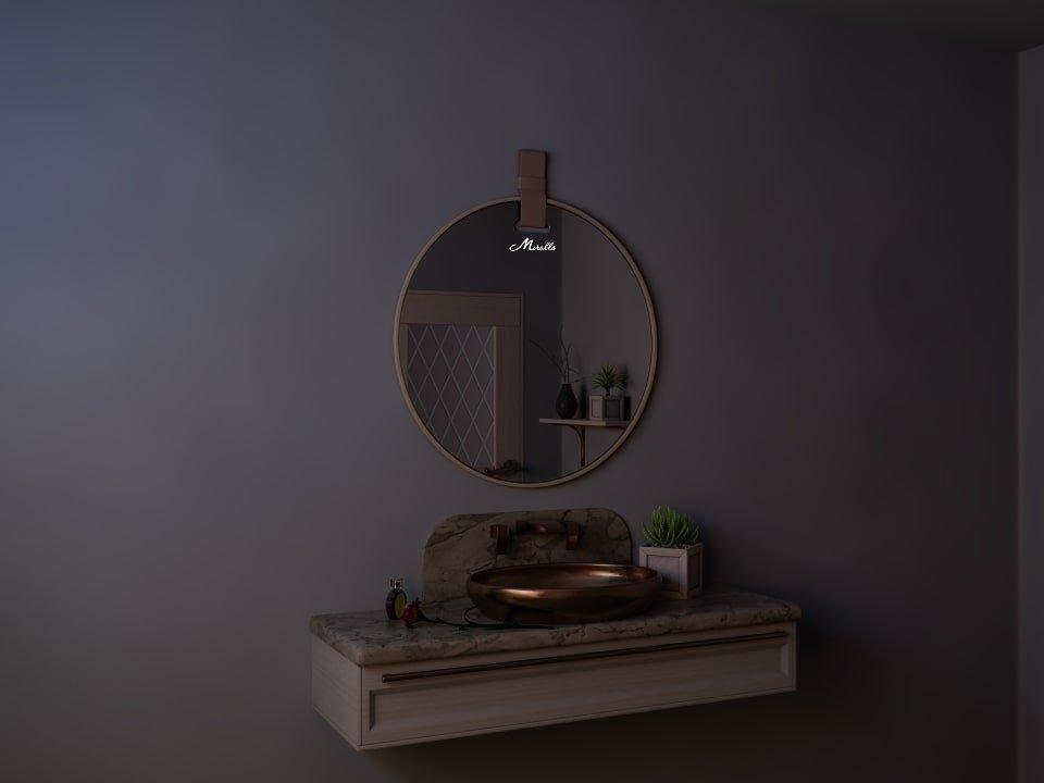 Зеркало с ремнем Angelica