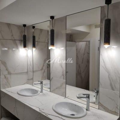 Зеркальные полотна под вклейку в ЖК Хорошевский