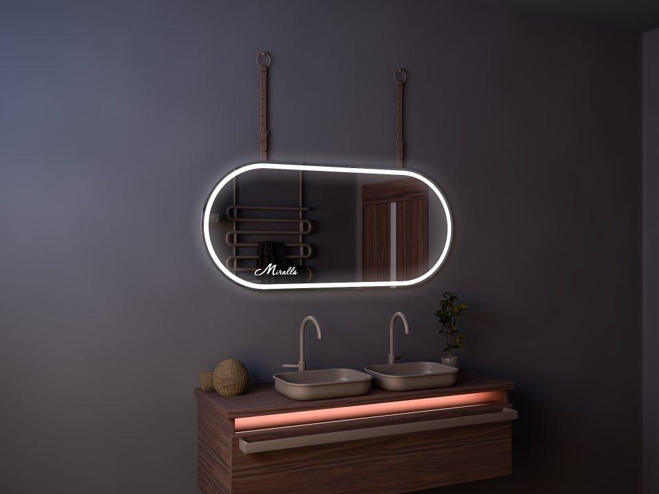 Эксклюзивное зеркало с подсветкой и ремнём Camelot Plus