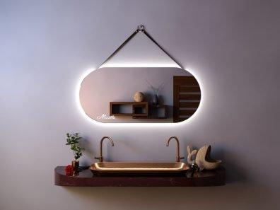 Эксклюзивное зеркало с подсветкой и ремнём Glen Extra