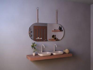 Эксклюзивное зеркало с ремнём Camelot