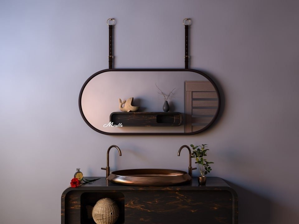Эксклюзивное зеркало с ремнём Duet