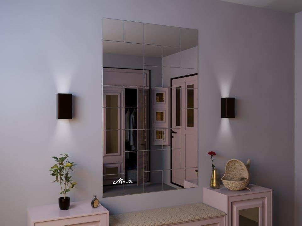Зеркальное панно Vertical