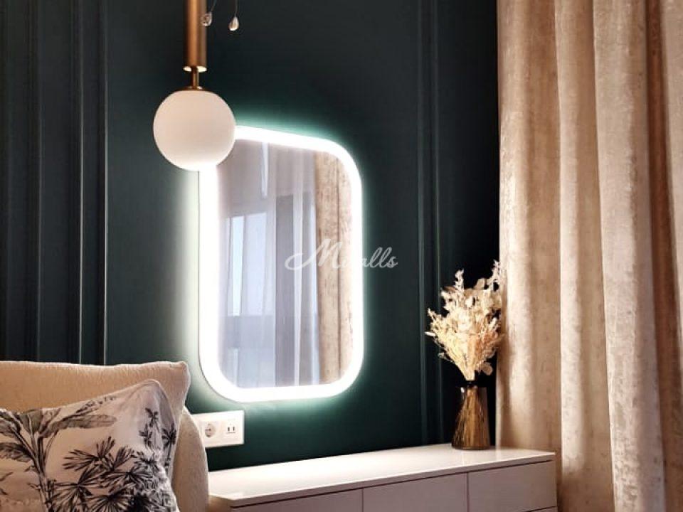 Зеркало Kelly с холодным светом