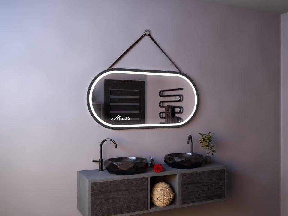 Эксклюзивное зеркало с подсветкой и ремнём Harmony Plus