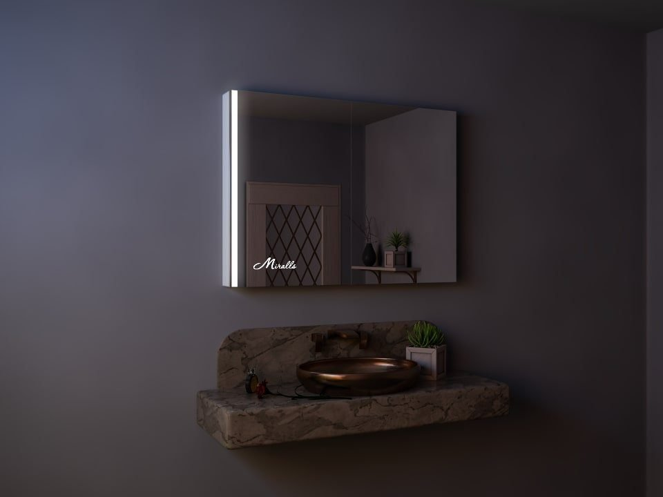 Зеркальный шкаф с подсветкой Charlie