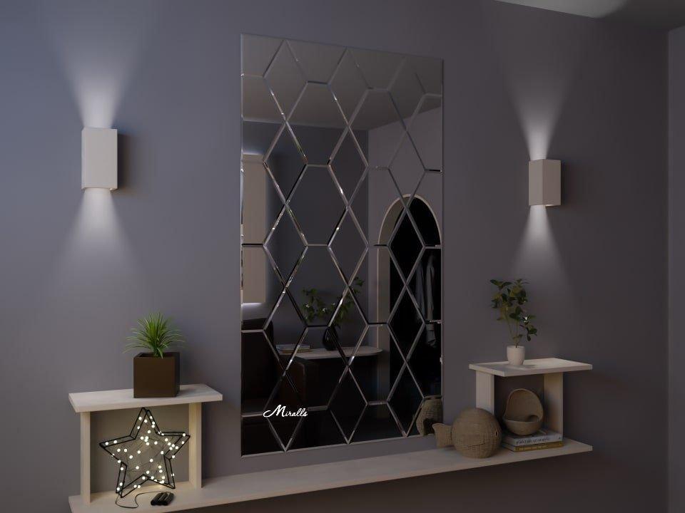 Зеркальное панно Venetto