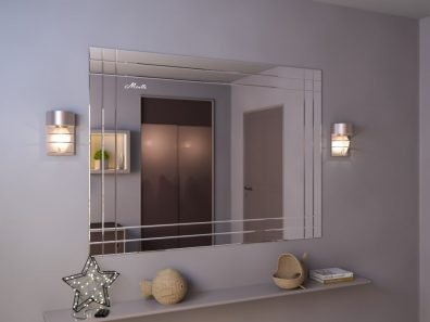Зеркальное панно Corsica