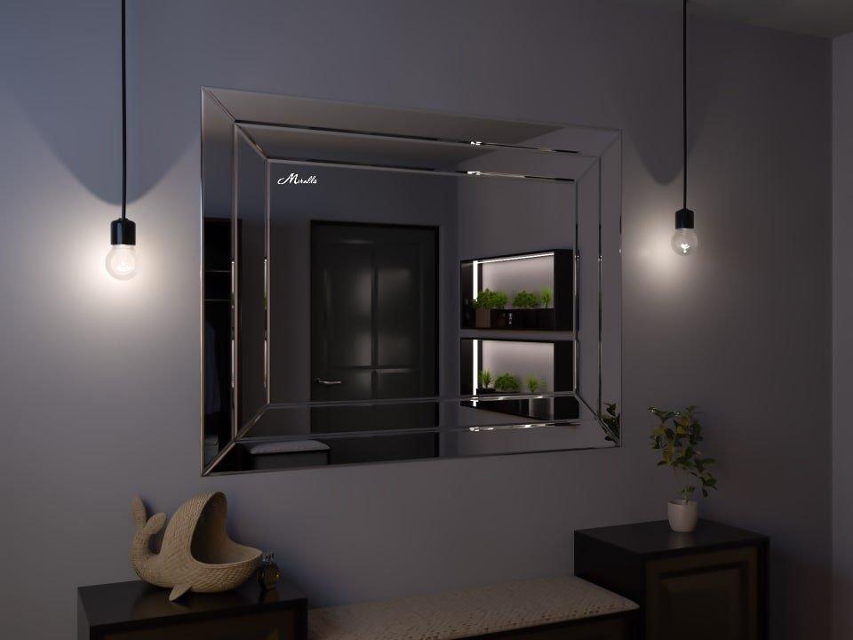 Зеркальное панно на стену Abel