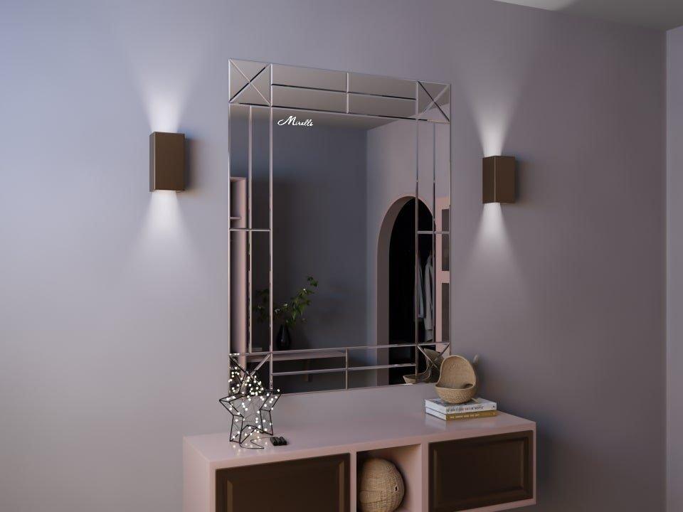 Зеркальное панно на стену Andrea